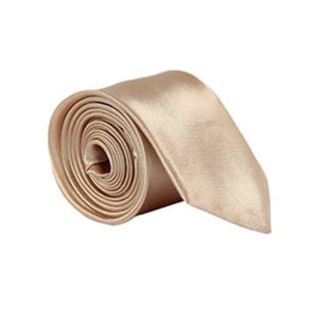 QEHWS Corbata Corbatas De Hombre Sólido Corbatas Corbatas para ...