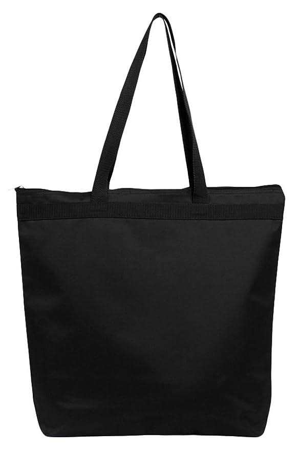 ultraclub 8802 con cremallera bolso de mano, color negro: Amazon.es: Ropa y accesorios