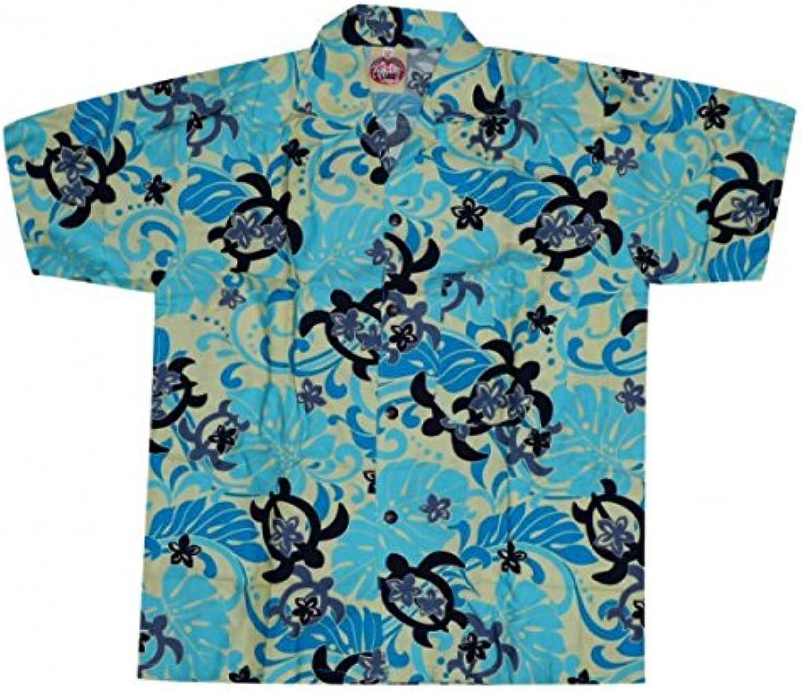 Camisa hawaiana tortuga niño Azul turquesa: Amazon.es: Ropa y accesorios