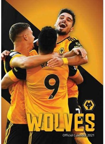 Wolverhampton Wanderers FC Calendar 2021 Official Merchandise