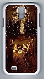 iCustomonline God Back Cover Case For Samsung Galaxy S4 I9500 White