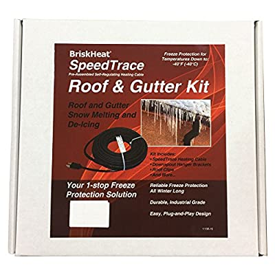 BriskHeat FFRG15-100 SpeedTrace Roof and Gutter Kits, Cable