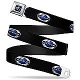 Automotive : 2012 Datsun Oval Logo Full Color Black Blue White 2012 Datsun Oval Logo Seatbelt Belt Kids