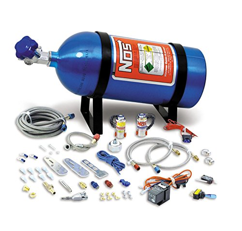 NOS 05130NOS Universal Single Fogger Wet Nitrous System (Efi Wet Kit)