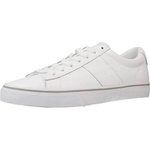 wholesale sales new styles on feet at Polo Ralph Lauren Sayer Trainers White