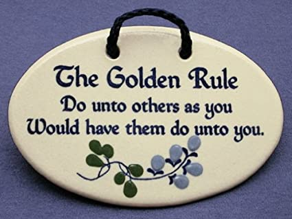Do Unto Others Quotes Simple Amazon The Golden Rule Do Unto Others As You Would Have Them