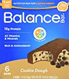 Balance Cookie Dough Nutrition Energy Bar, 6 Count Review