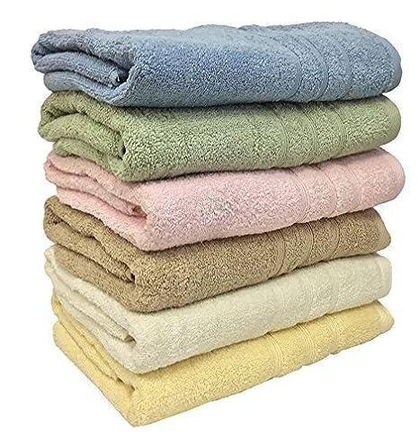 """3 unidades Textil en la Ruthy 27 """"X 54"""" 100% toallas de"""