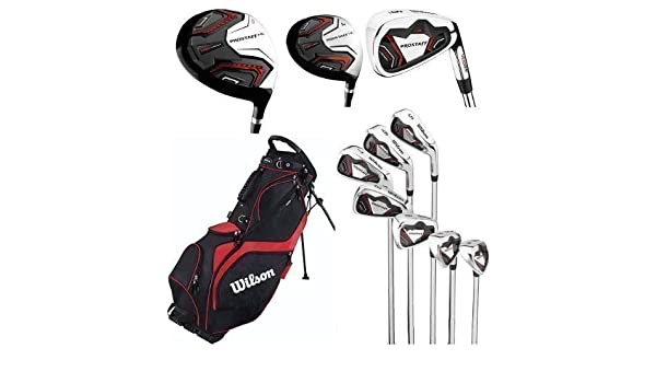 Wilson Prostaff HL Mens Complete Golf Club Set & Prosaff ...