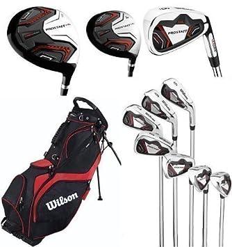 Wilson Prostaff HL Mens Complete Golf Club Set & Prosaff ...