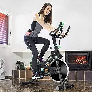 Cecotec Bicicleta Spinning, Volante de inercia de 16 Kilos ...
