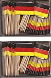 2 Boxes of Mini Germany Toothpick Flags%