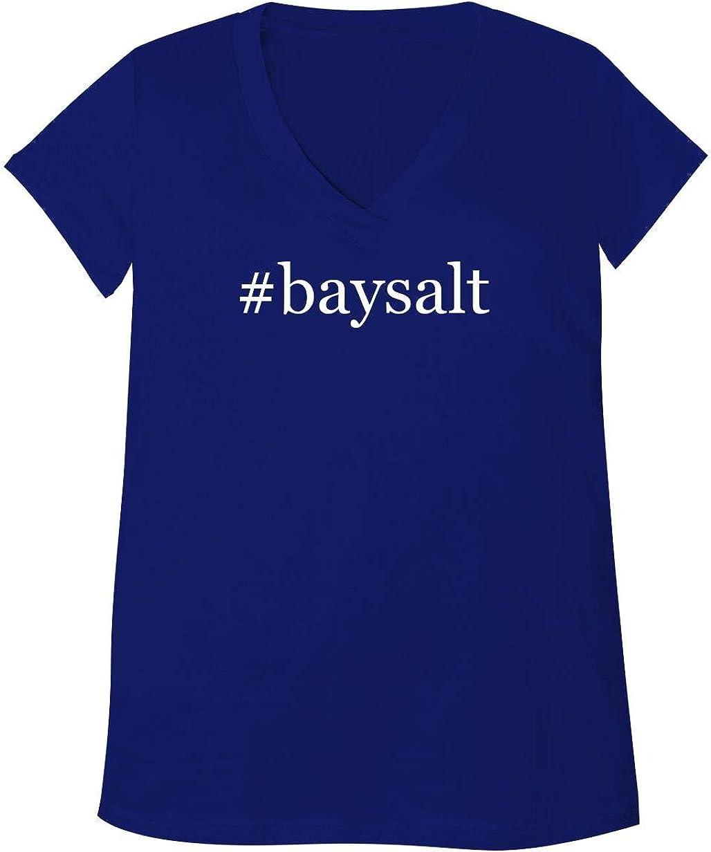 #baysalt - Adult Bella + Canvas B6035 Women's V-Neck T-Shirt 51T7xfcz4IL