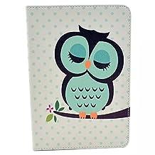 Apple iPad mini 1 2 3 Smart Case,Apple mini2 iPad Case,iPad mini 3 Back Cover,PU Leather [Stand Feature] Slim Book Cover Case for Apple iPad Mini 1 2 3 Protective Skin,Classic owl