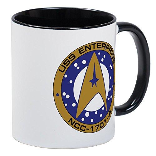 CafePress - Enterprise 1701-A Mug - Unique Coffee Mug, Coffee Cup