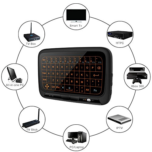 78c654ed5df 85%OFF Wireless Mini Keyboard and Mouse Combo, 2.4GHz Backlit Whole Pannel  Touchpad