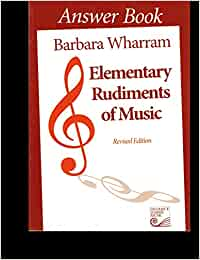 elementary rudiments of music answer book pdf