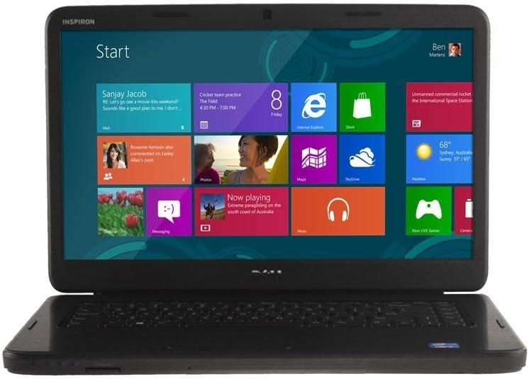 Dell Inspiron i15-2255BK 15.6-Inch Laptop (2.4 GHz Intel i3 2370M Processor, 4GB DDR3 SDRAM, 500GB Hard Drive, Windows 8)