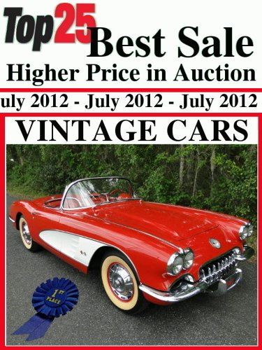 Top25 Best Sale Higher Price in Auction - Vintage Cars