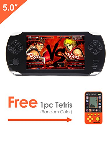 JXD 5 Inch 8G 32Bit LCD Handheld Video Game Console Built...