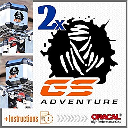 2pcs adh/ésif R1200 Compatible avec Les Motos Motorrad R1200GS Adventure R 1200 GS Orange