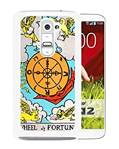 Tarot Fortune White LG G2 Screen Phone Case Nice and Unique Design