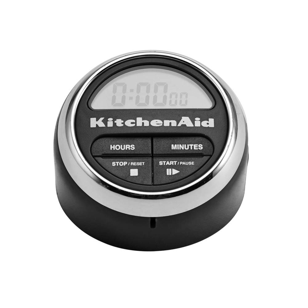 KitchenAid Digital Kitchen Timer, Black