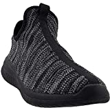 AND1 Men's Too Chillin Too Basketball Shoe, Knit/Black, 11 M US