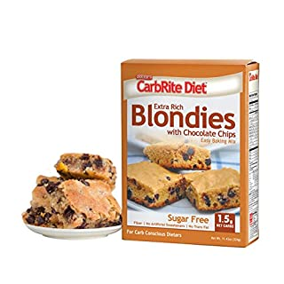 Doctor's CarbRite Diet - Sugar Free- 1.5g Net Carbs - Great for Keto and Lazy Keto Diets - Blondie Mix with Chocolate Chips