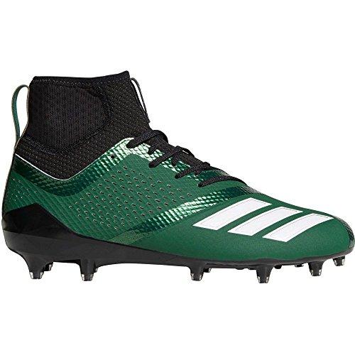 運賃刺す専制(アディダス) adidas メンズ アメリカンフットボール シューズ?靴 adiZERO 5-Star 7.0 SK Mid Football Cleats [並行輸入品]