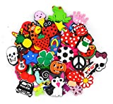 50 COLORFUL Charms for Crocs or Jibbitz Bracelets