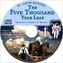 The Five Thousand Year Leap Audio Book W Cleon Skousen border=