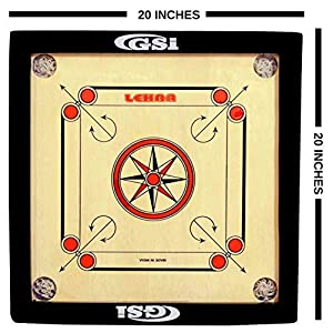 GSI Carrom Board Buy Online with Coins Striker