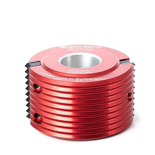 Amana Tool 61296 Insert Carbide 'V' Type Glue Joint Cutter 90mm D x 50mm CH x 1-1/4 Bore Shaper Cutter