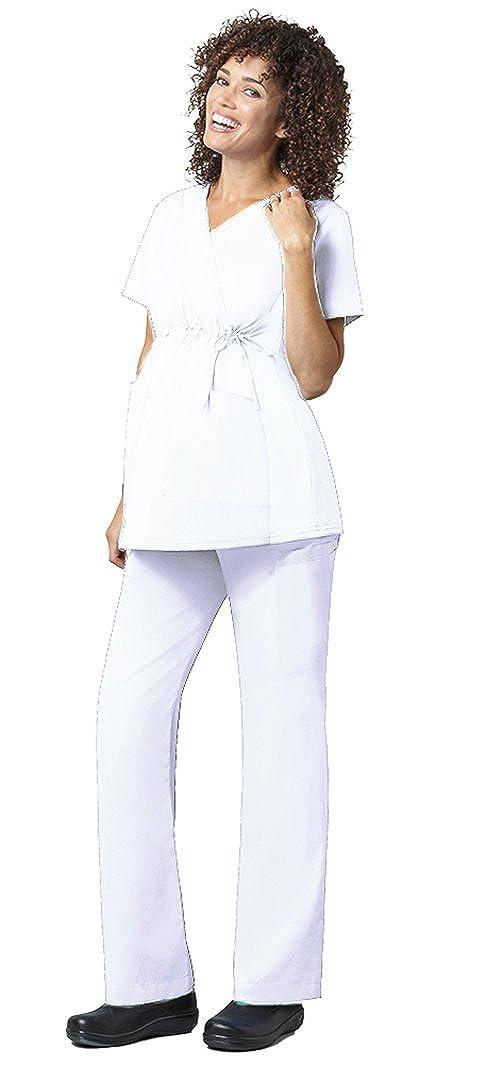 5f9f43af138a4 Amazon.com: WonderWink Women's WonderWORK Maternity Top 145 & Pant 545 Scrub  Set: Clothing