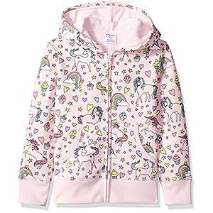 Amazon Brand – Spotted Zebra Girls' Fleece Zip-Up Hoodie Sweatshirts