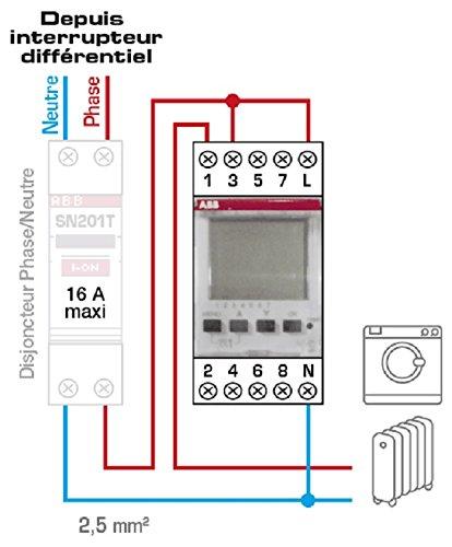 Abb-entrelec - Programador digital d1: Amazon.es: Bricolaje y herramientas