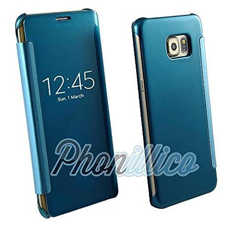 coque samsung s6 edge bleu