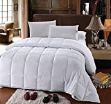 Super Oversized King Down Comforter Royal Hotel's OVERSIZED KING Down-Alternative Comforter - Duvet Insert, 100% Down Alternative Fill