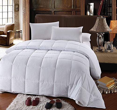 Royal Hotel's OVERSIZED KING Down-Alternative Comforter - Duvet Insert, 100% Down Alternative Fill (Oversized Ca King Down Comforter)