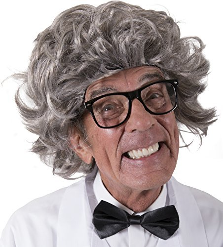 Kangaroo's Mad Scientist Wig, Albert Einstein Wig for Kids or Adults