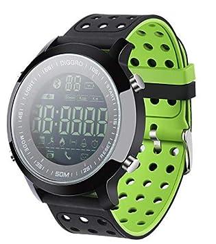 Amazon.com: Reloj inteligente de 5 ATM resistente al agua ...