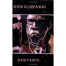 Don Giovanni: A Play