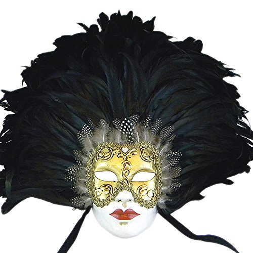 VIVO Masks Womens Nicole Kidman 'Eyes Wide Shut' Venetian Masquerade Mask (Venetian Eye Mask)