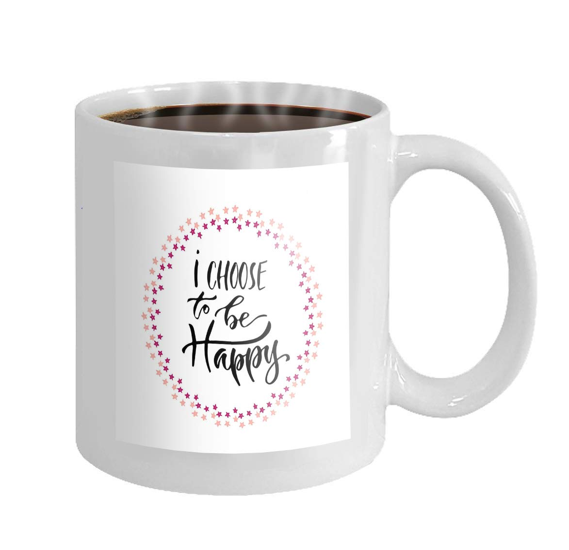 photograph about Coffee Cup Printable named  11 oz Espresso Mug impressive lettering inspirational