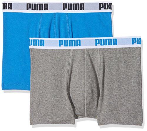 Hombre Para De Pack Basic Bóxer Boxer Azul 2p Puma 2 gris XwxSR