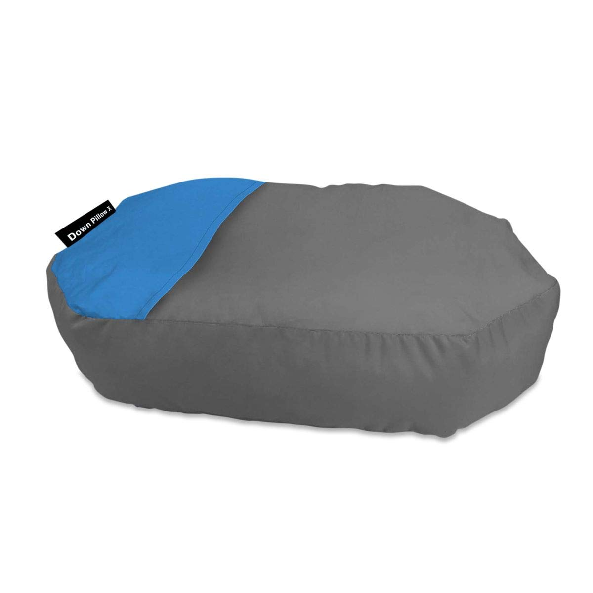 Klymit Inflatable Traveling Top Down Pillow Grey Blue