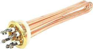 X-DREE AC 380V 6000W high performance Water Boiler Heating essential Element 3U Shaped well made Tube Heater(331-96-08-902)