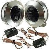 SoundXtreme ST-TW110 Component CarTweeter Pair 350W Crisp Sound Crossovers HQ