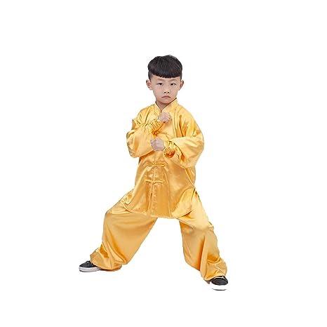 HYMY Traje De Kungfu De Kungfu Chino Tradicional para Niños Niñas ...